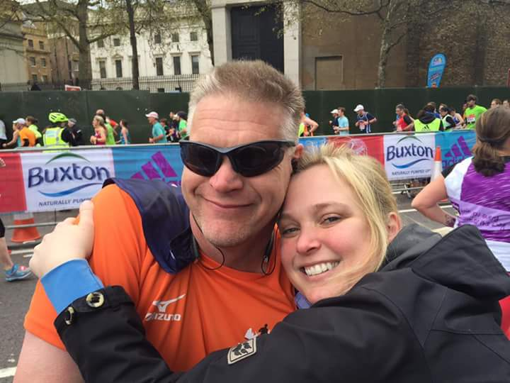 London Marathon Hans1